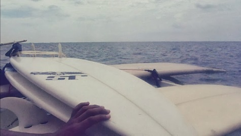 Boards on a boat