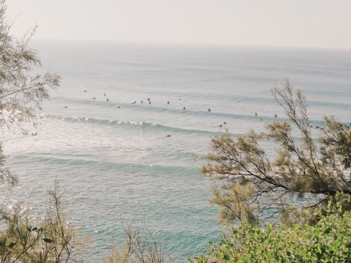 Surfers and Lines