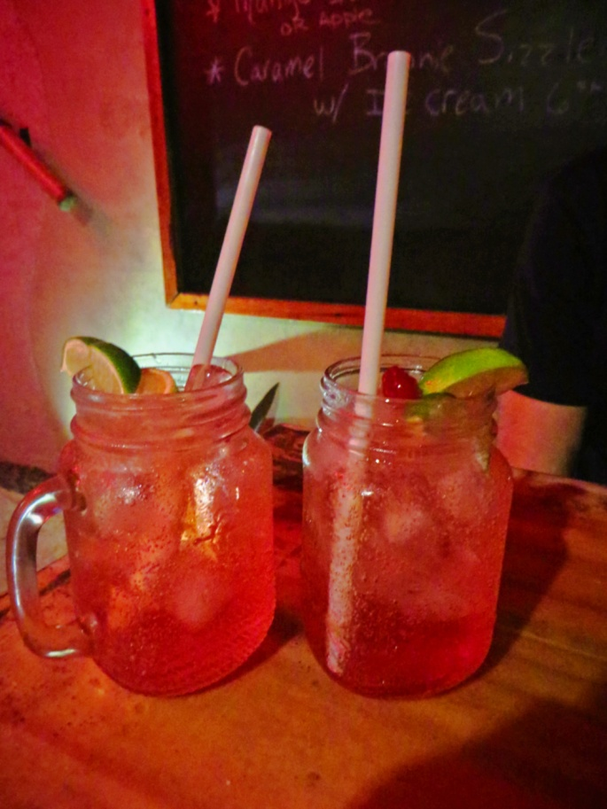 non-alcoholic fizzy drinks
