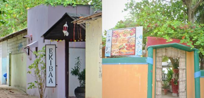 Restaurants in the island