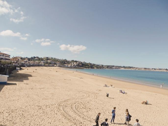 Empty beaches