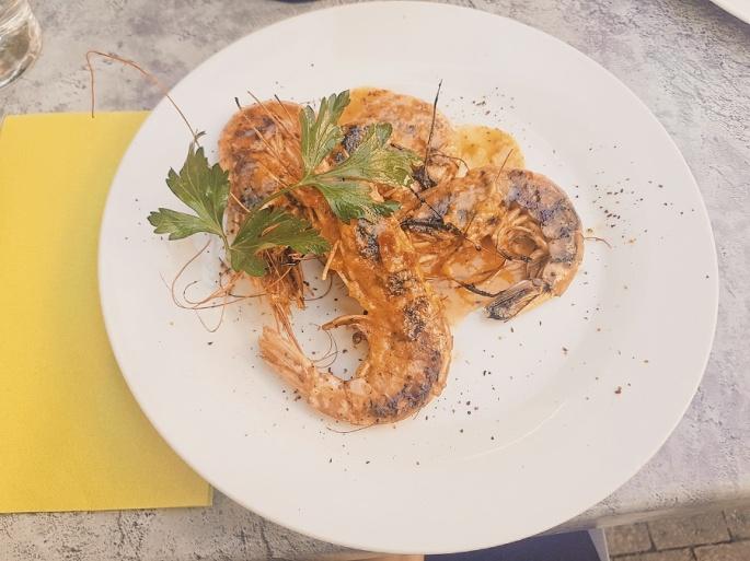 My prawn dish