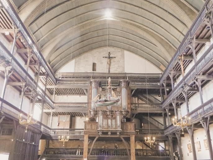 Typical Basque church