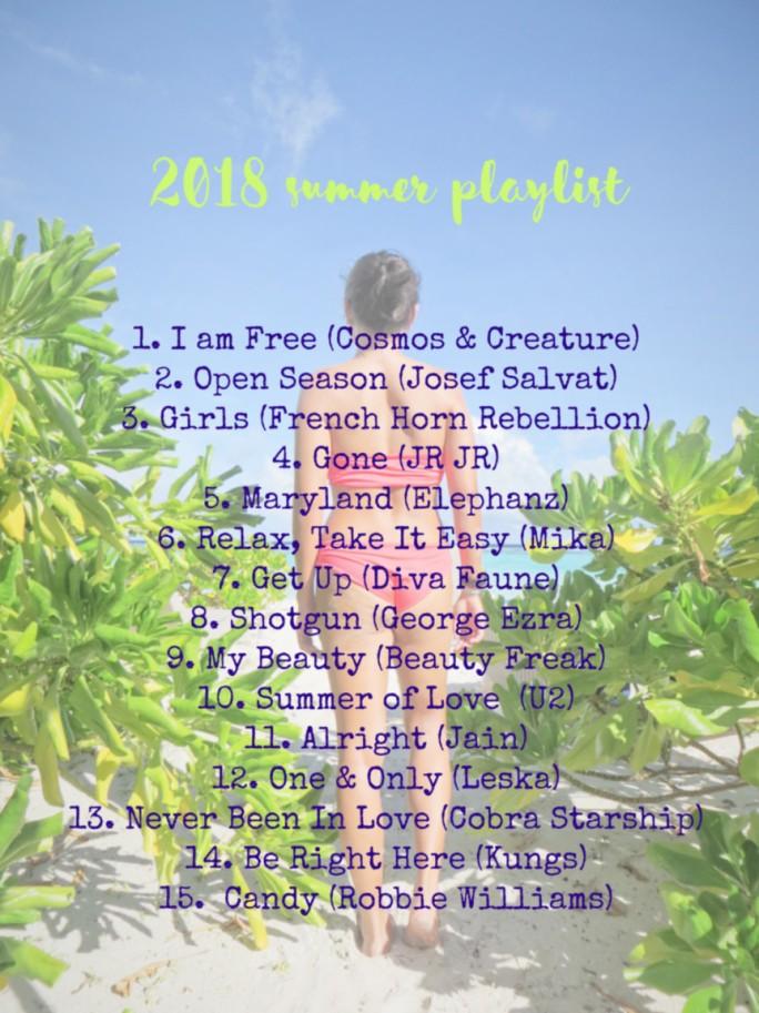 2018 Summer Playlist_2