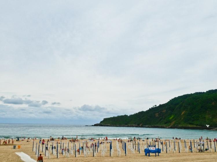 Baby waves at Playa Zurriola