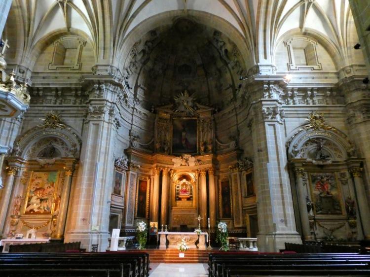 Inside the Basilica Santa Maria