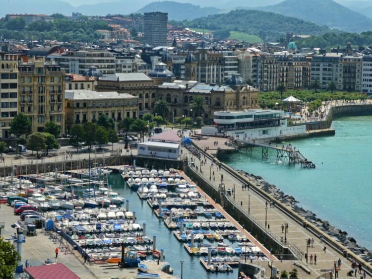 Port at San Seb